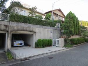 駐車場(before)